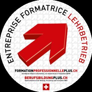 Logo entreprise formatrice - Lehrbetrieb