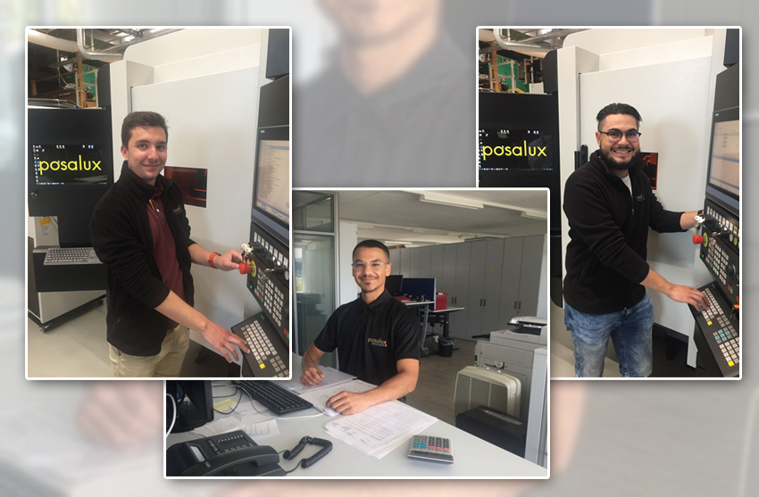 Brillante Réussite aux Examens: Bravo à nos trois apprentis ! – Excellent Results in Final Exams: Compliments to our three trainees